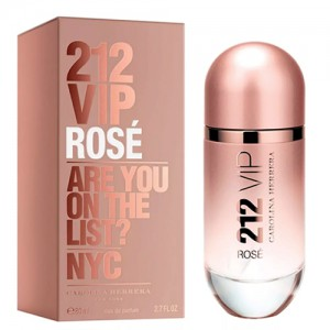 Perfume Feminino 212 VIP Rosé EDP 80ml - Carolina Herrera