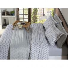 Jogo de Cama Casal Home Design 200 Fios Algodão Atrium 4pçs - Corttex