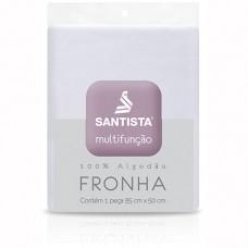 Fronha p/ Travesseiro Multifunção Branca - Santista