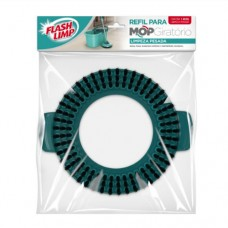 Refil Mop Giratório Limpeza Pesada - FlashLimp