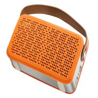 Caixa de Som Bluetooth Hands Free Pulse Laranja - Multilaser