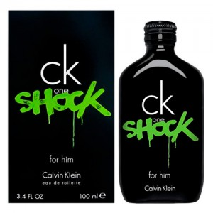Perfume Masculino Ck One Shock for Him EDT 100ml - Calvin Klein