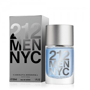 Perfume Masculino 212 Men EDT 30ml - Carolina Herrera