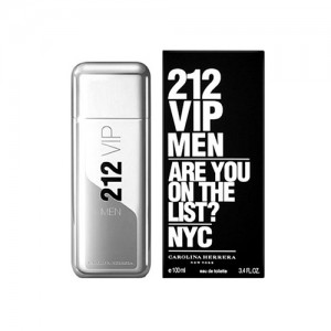 Perfume Masculino 212 Vip Men EDT 50ml - Carolina Herrera