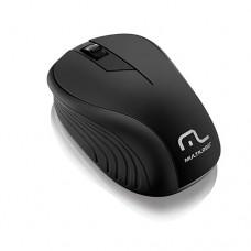 Mouse sem Fio 2.4 Ghz Preto USB - Multilaser