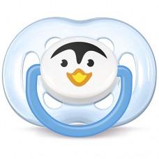 Chupeta Freeflow 6 a 18 meses Pinguim Azul - Philips Avent
