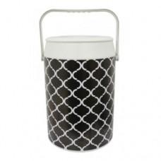 Geladeira Cooler Empório Black & White 42 Latas - Anabell