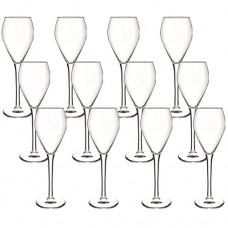 12 Taças de Champagne Sommelier Flute 148ml - Cisper