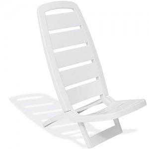 Cadeira de Praia Basic Guarujá Branca - Tramontina