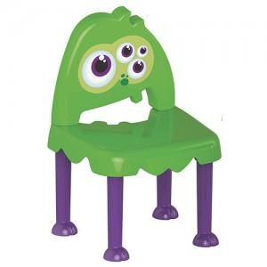 Cadeira Monster Kids Verde e Roxa - Tramontina
