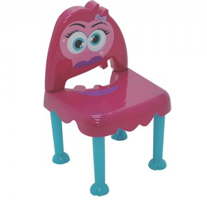 Cadeira Monster Kids Rosa e Azul - Tramontina