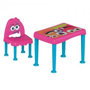 Conjunto Monster Kids Rosa e Azul - Tramontina