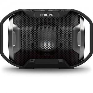 Alto-falante Portátil Bluetooth ShoqBox Antichoque e à Prova Dágua 4W Preto - Philips