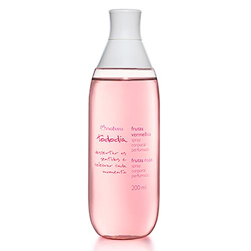 Desodorante Colônia Spray Corporal Perfumado Frutas Vermelhas Tododia 200ml - Natura