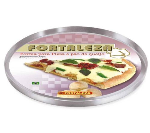 Forma Para Pizza 35cm -  Alumínio Fortaleza