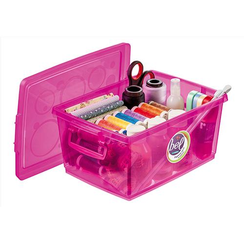Organizador c/ Trava 4L Pink - Ordene