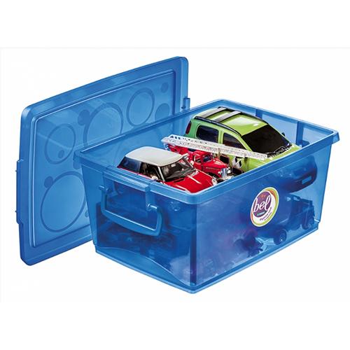 Organizador c/ Trava 7,5L Azul - Ordene