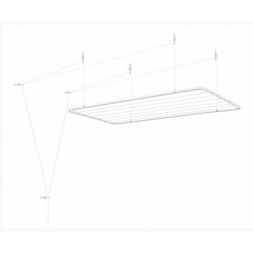 Varal de Teto em Aço 1,20m - Ordene