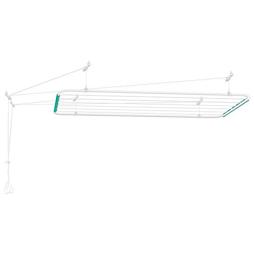 Varal de Teto Mônaco Branco 1,20 x 0,56m - Secalux
