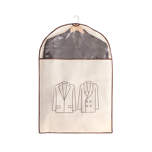 Capa Protetora para Roupas Médio Bege - Secalux