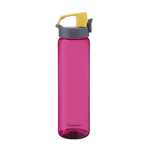 Garrafa de Tritan Exata Parede Simples Pink 900ml - Tramontina