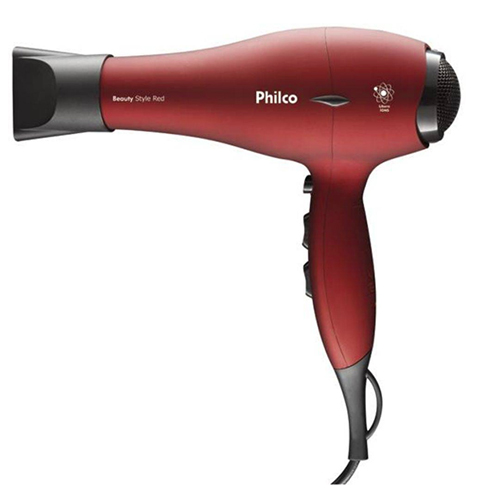 Secador de Cabelos Beauty 1900W Style Red - Philco