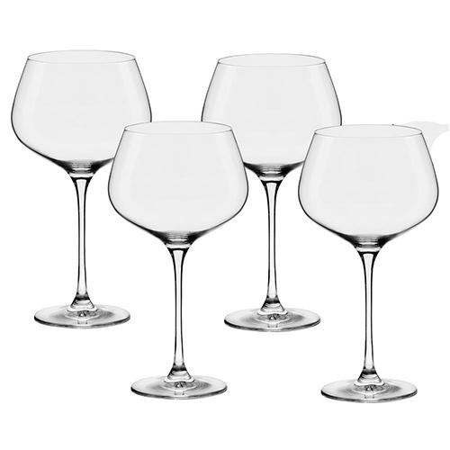 Conjunto de Taças de Cristal para Vinho Bourgogne Flavour  Classic  850ml 4pçs - Oxford