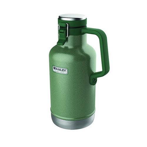 Garrafa Growler Térmica Classic Vaccum Hammertone Green 1,9L - Stanley