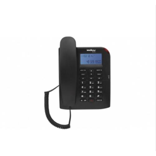 Telefone com Fio ID e Viva-Voz Preto - Intelbras