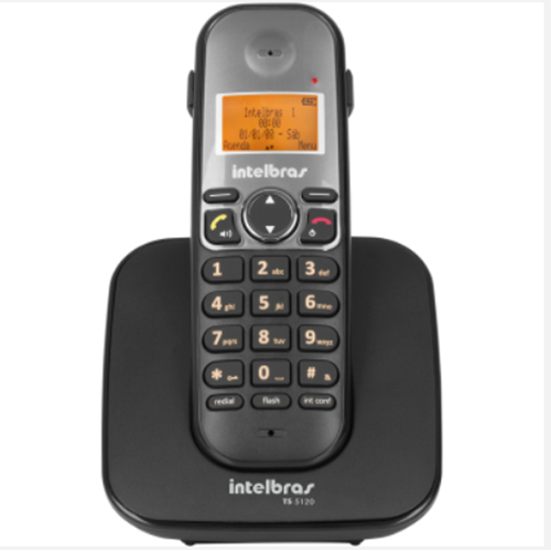 Telefone sem Fio Digital ID Preto - Intelbras