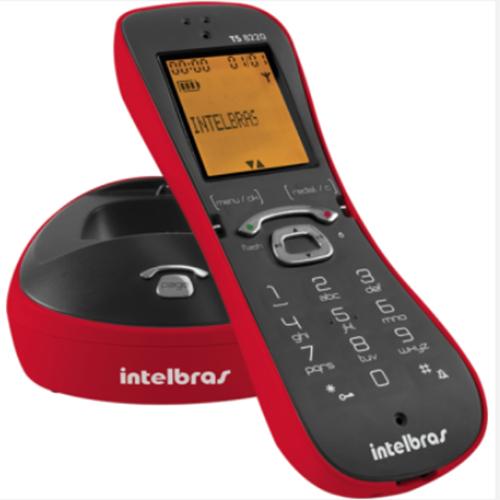 Telefone sem Fio Digital ID Vermelho - Intelbras