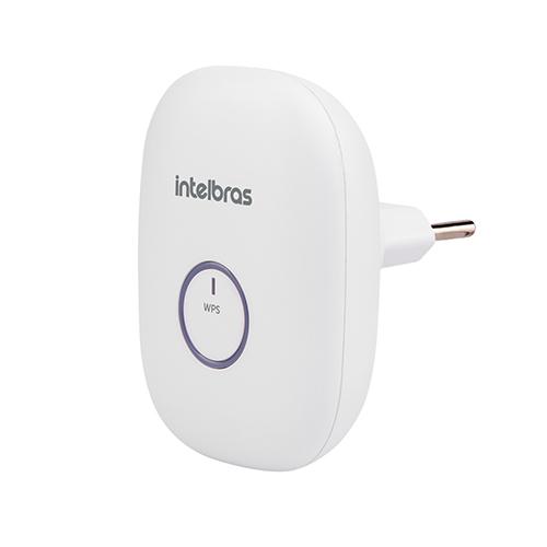Repetidor de Sinal Wi-Fi 300Mbps Wireless Home 2 em 1 Branco - Intelbras