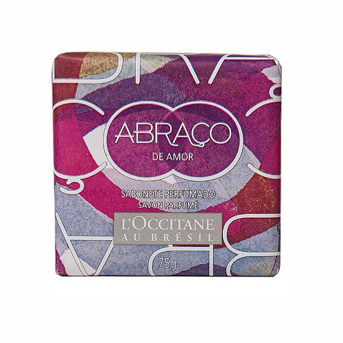 Sabonete em Barra Perfumado Abraço de Amor 75g - L'Occitane au Brésil
