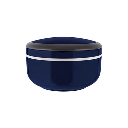 Marmita Lunch Box Individual para Microondas Azul - Euro Home