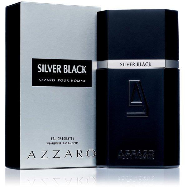 Perfume Masculino Silver Black EDT 100ml - Azzaro