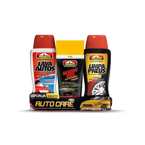 Kit Auto Care para Veículo - Proauto