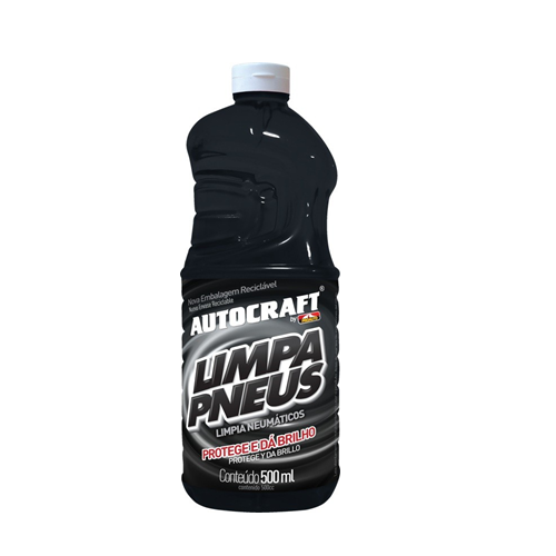 Limpa Pneus 500ml - Autocraft