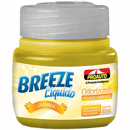Odorizante Breeze Líquido Lavanda 80ml - Proauto
