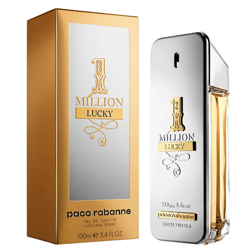 Perfume Masculino 1 Million Lucky EDT 100ml - Paco Rabanne