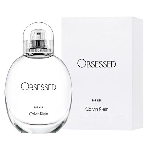 Perfume Masculino Obsessed For Men EDT 75ml - Calvin Klein