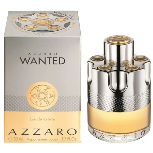 Perfume Masculino Wanted EDT 50ml - Azzaro