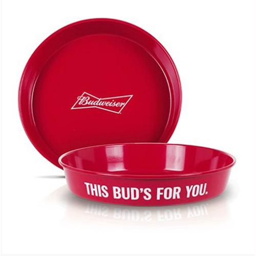 Bandeja em Aluminio Budweiser This Bud For You - Alumiart Falcão