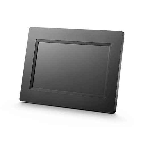 Porta Retrato Digital Portátil LCD 7 Preto - Multilaser