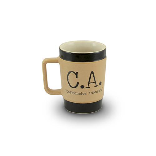 Caneca de Cerâmica Coffee To Go C.A. 70ml - MondoCeram