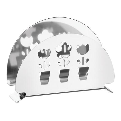 Porta Guardanapos em Aço Inox com Detalhes Vazados Utility - Tramontina