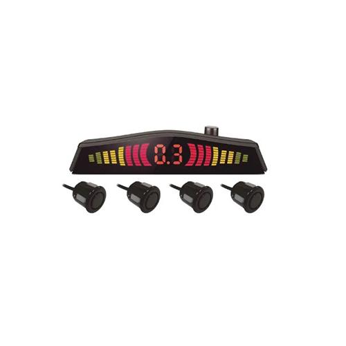 Sensor de Estacionamento Emborrachado com 4 Pontos Preto - Multilaser