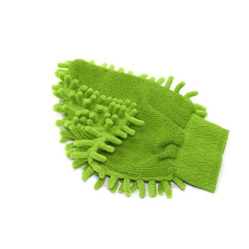Luva em Microfibra Dupla Face Limpeza E Polimento 100% Poliester - Multilaser