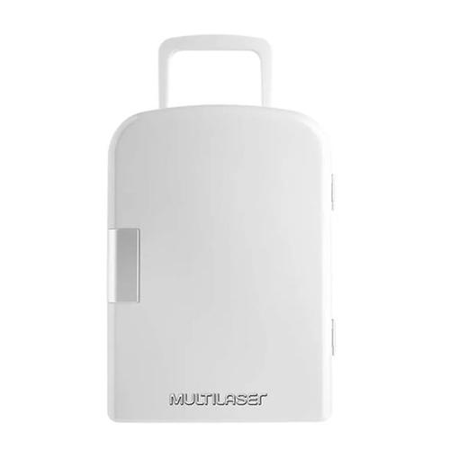 Mini Geladeira Retro 6L Branca Trivolt - Multilaser