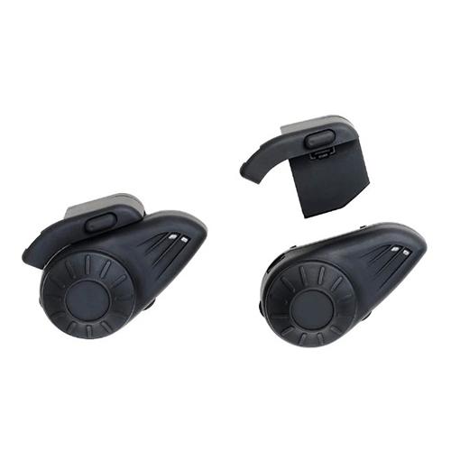 Par de Intercomunicador para Capacete com Bluetooth Preto - Multilaser