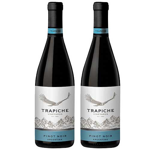 2 Vinhos Trapiche Pinot Noir 750ml